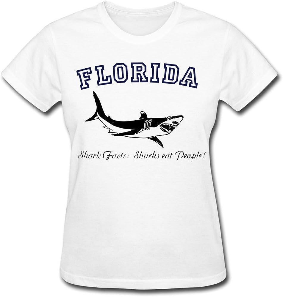JSFAd Women's Florida Shark T-Shirt