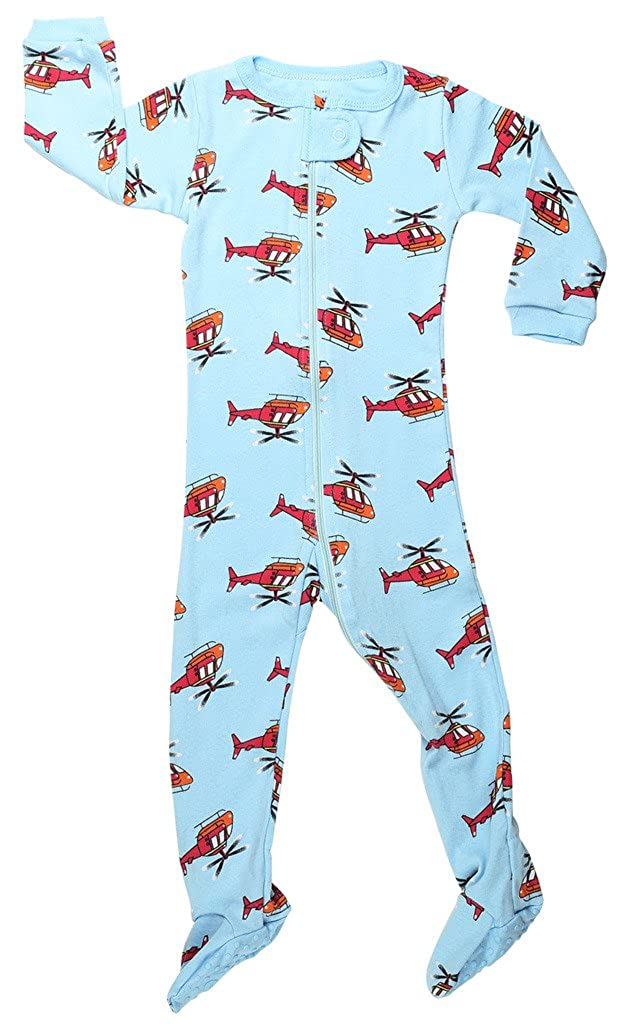 Elowel Baby Boys Footed Turtle Pajama Sleeper 100/% Cotton Size 6M-5Years