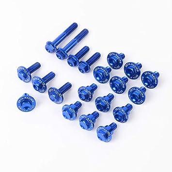 Zeta ze88 – 5646 Kit de perno en forma de cuerpo de aluminio – azul