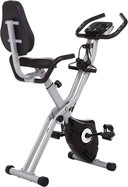 Amazon Com Ancheer As Seen On Tv Cycle 3 In 1 Stationary Bike Folding Indoor Exercise Bike With App And Heart Monitor Perfect Home Exercise Machine For Cardio Sports Outdoors