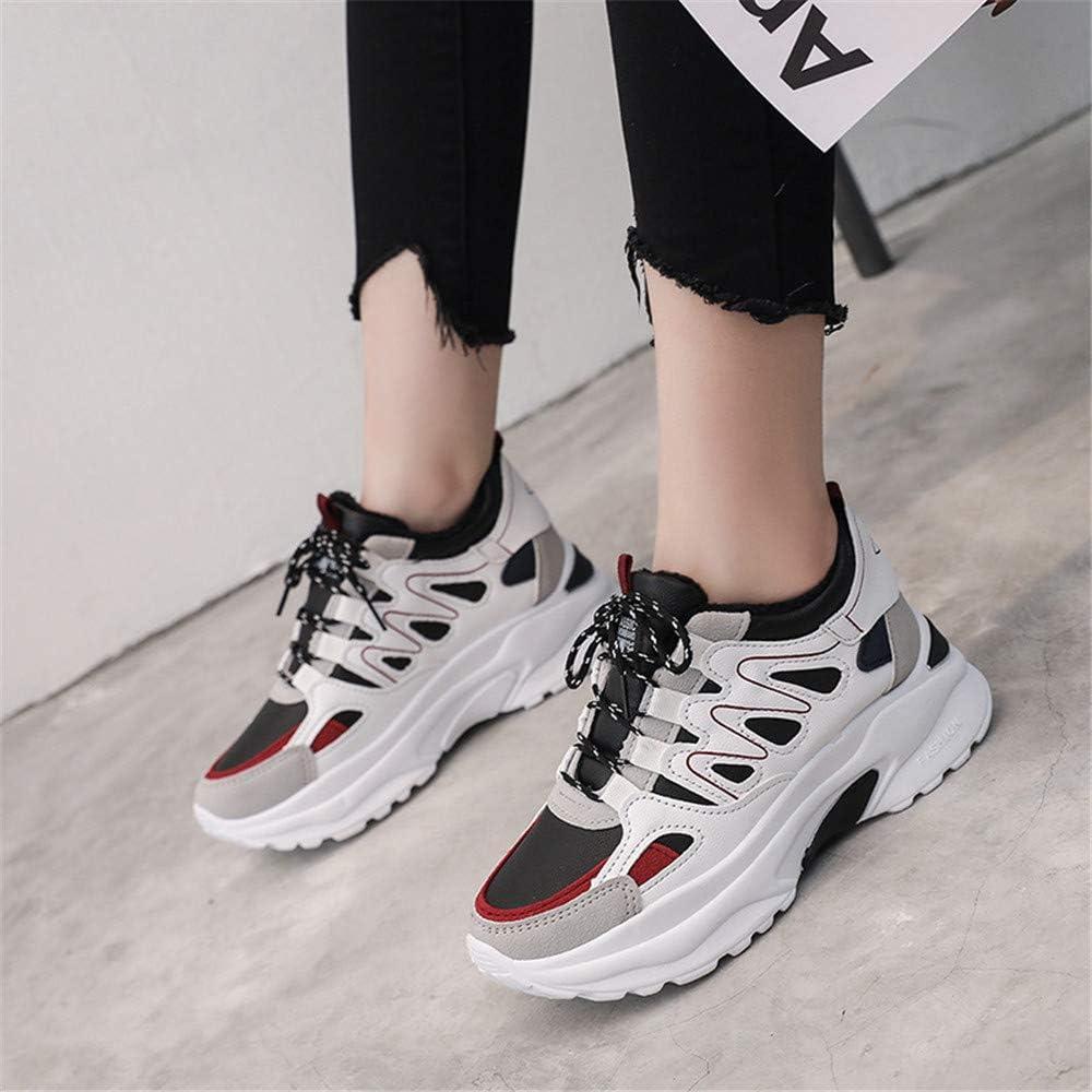 Daddy Shoes Hot Ins - Zapatillas de Running para Mujer, Blanco (Black-Cotton), 35 EU: Amazon.es: Zapatos y complementos