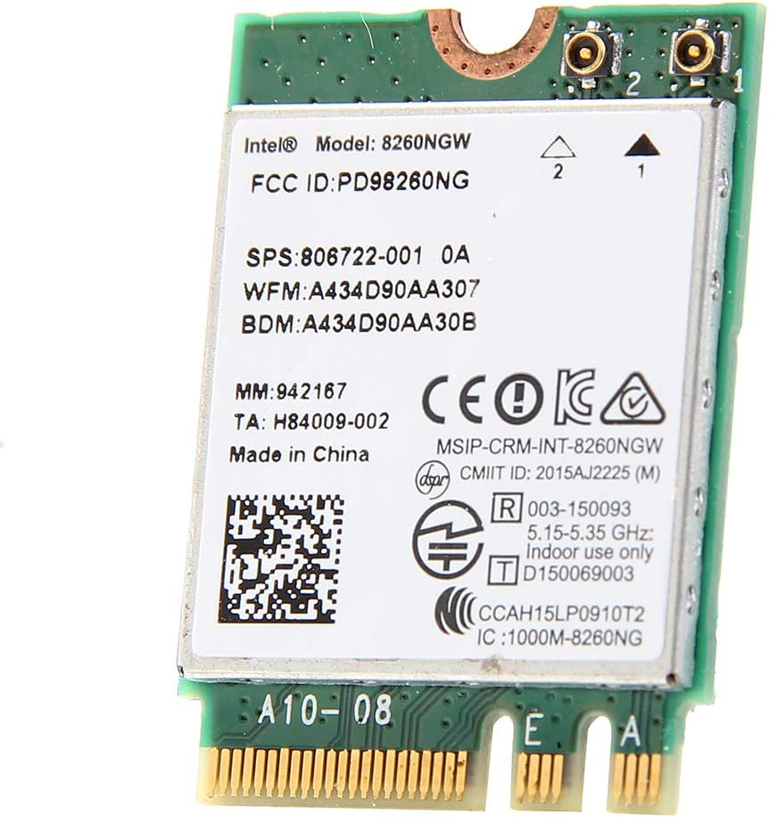 Wi-Fi//Bluetooth Combo Adapter Network Card for Intel AC 8260 IEEE 802.11ac Bluetooth 4.2
