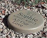 Pet Memorial Step Stone 7.5″ Diameter 'All Our Love'