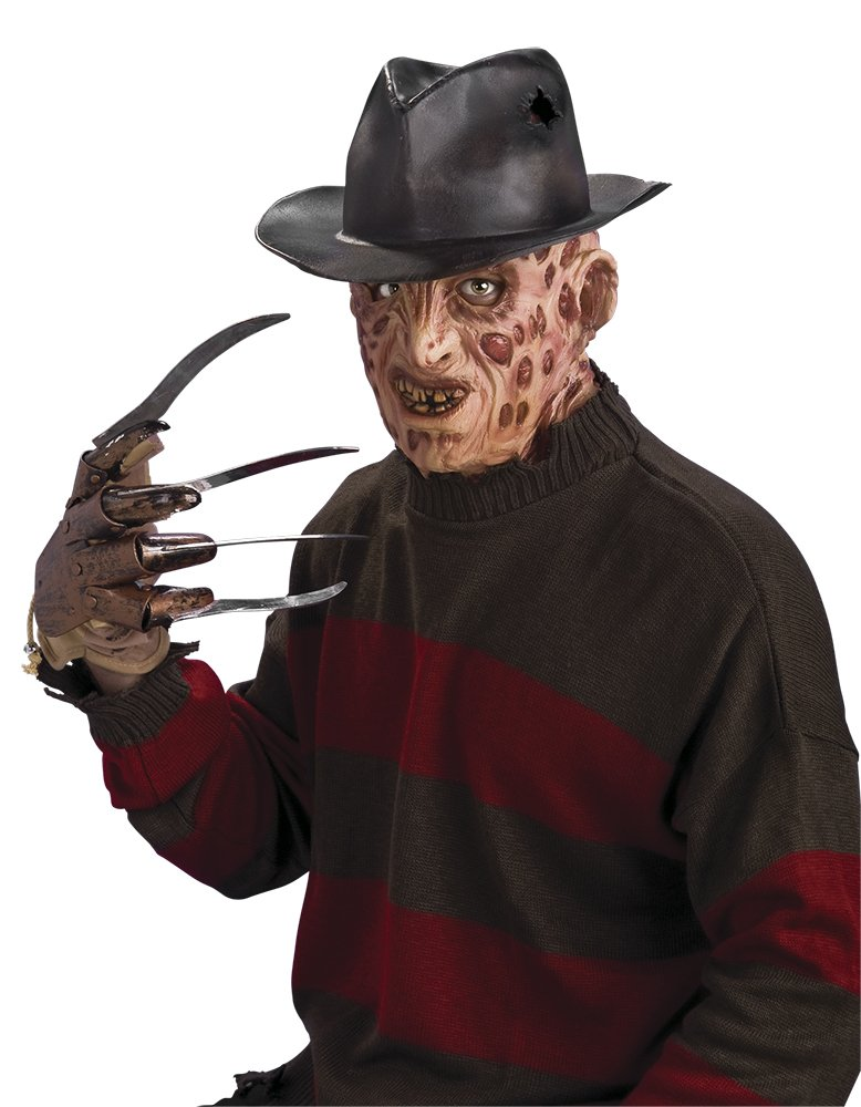 Rubie's Costume Co A Nightmare On Elm Street Freddy Krueger Hat (One Size/Brown)