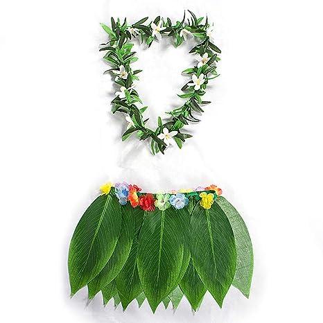 INFILM - Juego de 2 Piezas de Disfraz Hawaiano, Talla única, para ...