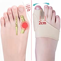 JANMISI Bunion Corrector, Orthopedic Bunion Splint for Men and Women, Big Toe Hallux Valgus Hammer Toe Straightener (Day…