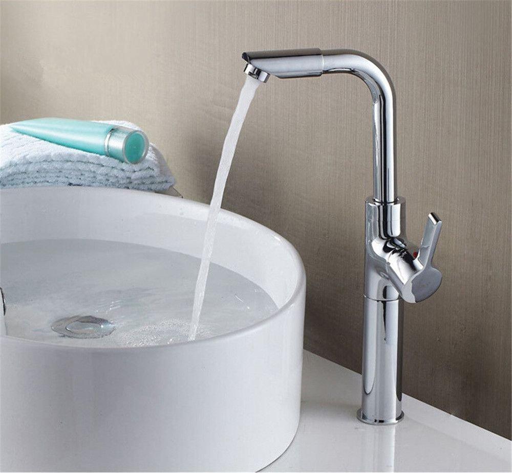 MMYNL TAPS MMYNL Waschtischarmatur Bad Mischbatterie Badarmatur Waschbecken Antike Kupfer Heißen und Kalten Wasserhahn Badezimmer Waschtischmischer