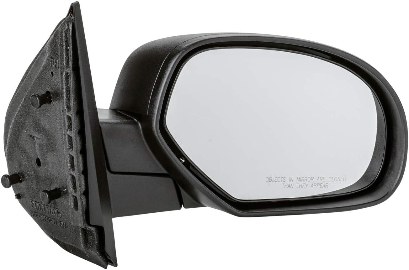 Charlotte Mall TYC 2170411-1 NSF Version half Black Outside Mirrors PTM Exterior