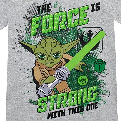 Review LEGO Star Wars Boys' Yoda T-Shirt Size 7