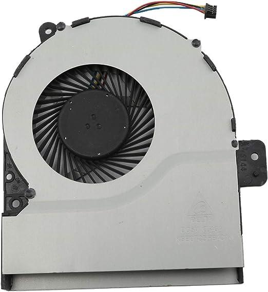 Deinbe Reemplazo para Ventilador de la CPU ASUS R752 X751M X751MA ...