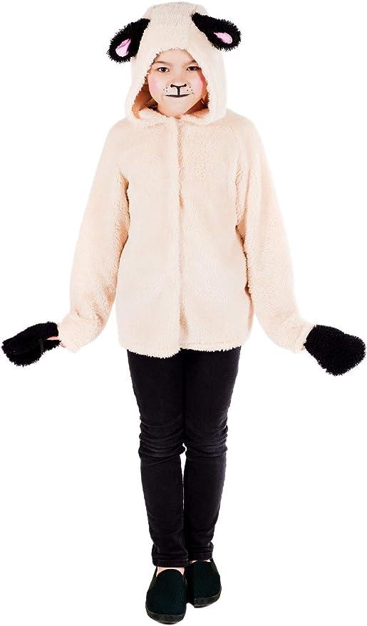 Fancy Me Disfraz de Oveja para niñas, diseño de Animales, Navidad ...