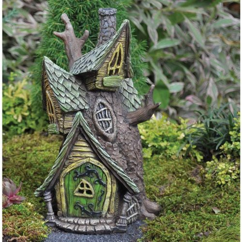 Fairy Home Faerie Garden Treehouse