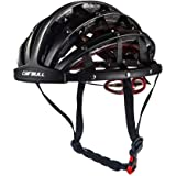 Heemtle Foldable Cycling Helmet Lightweight Adjustable Portable Safety Bicycle Helmets City Bike Sports Leisure Bike…