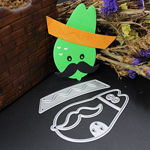 Rumas Embossing Stencil for Metal, Cartoon Dies Cutter for Card Making, Educational Toys for Kids (Cartoon Halloween Stencils)