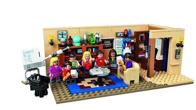 50 opinioni per Lego- 21302 The Big Bang Theory: Appartamento di Leonard e Sheldon