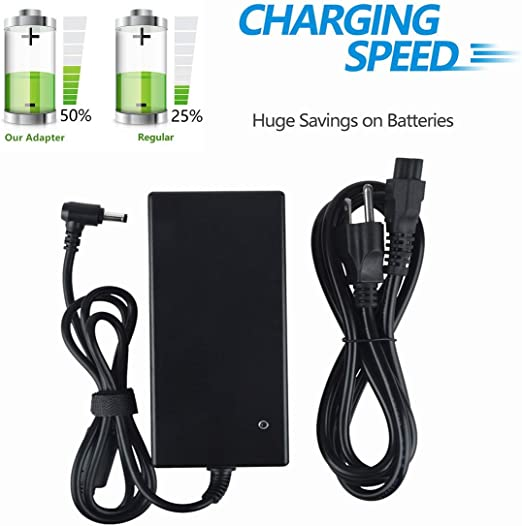 Barrel UpBright NEW AC//DC Adapter Replacement For LifeChoice Activox POC Model XYC103AC P//N XYC103 Pro 4L Portable Oxygen Concentrator XYC100B-P4L XYC100BP4L XYC1OOB-P4L XYC1OOBP4L Inovo Labs Charger
