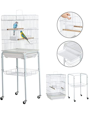 Smart Bird Canaries Cage Finches Feeder Seats Plastic Swing Hook Bird Pet Other Bird Supplies
