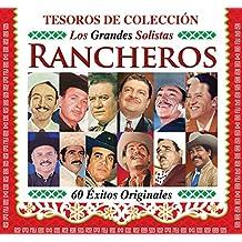 """TESOROS DE COLECCION """"LOS GRANDES SOLISTAS RANCHEROS"""" [60 EXITOS ORIGINALES] 3 CD'S [JAVIER SOLIS,JORGE NEGRETE,ANTONIO AGUILAR,LUIS AGUILAR,JULIO ALDAMA Y MAS...]"""