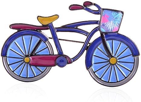 Azul Esmalte Bicicleta Moda Joyería Aleación Vehículo Niños ...