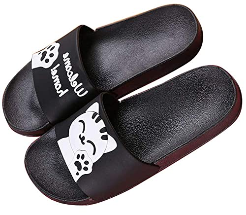 Girls Boys Cute Animal Non Slip Slippers Mule Slip on Summer Sandals Womens  Beach   Pool 20f6cdf0d