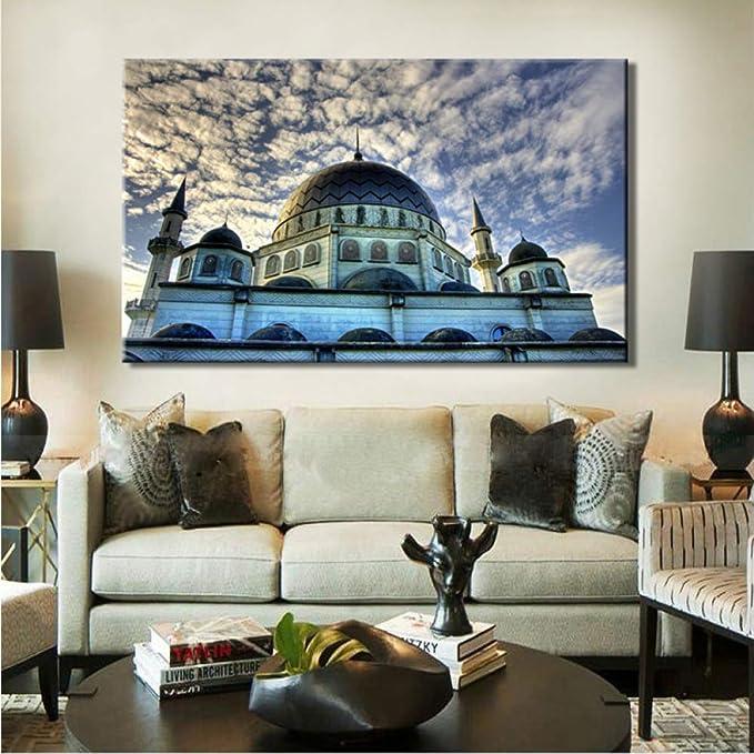 tzxdbh Cartel de decoración de Pared de Estilo islámico ...