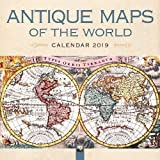 Antique Maps of the World Wall Calendar 2019 (Art Calendar)