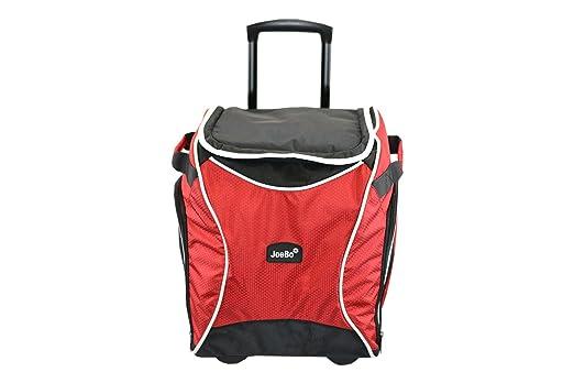 JoeBo carrito de con aislamiento Cool bolsa, ideal para eventos deportivos, picnics, rosso: Amazon.es: Jardín