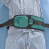 LUCKYYAN Care Roll Belt Constrained Bands Restraint Bed and Wheelchair ( Army Green)