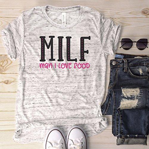 MILF Man I Love Food Unisex Shirt