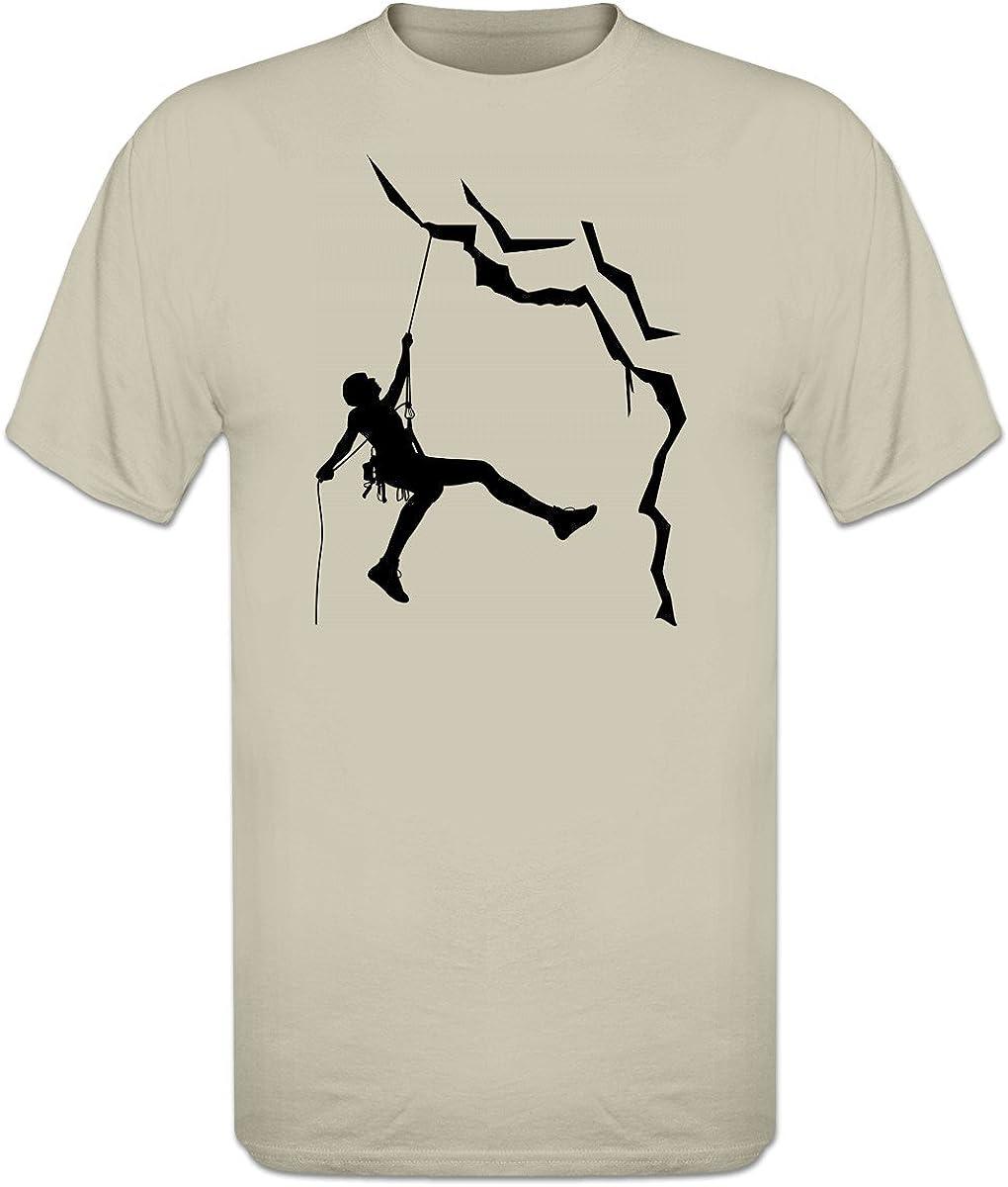 Shirtcity Camiseta La Escalada en Roca by: Amazon.es: Ropa y ...