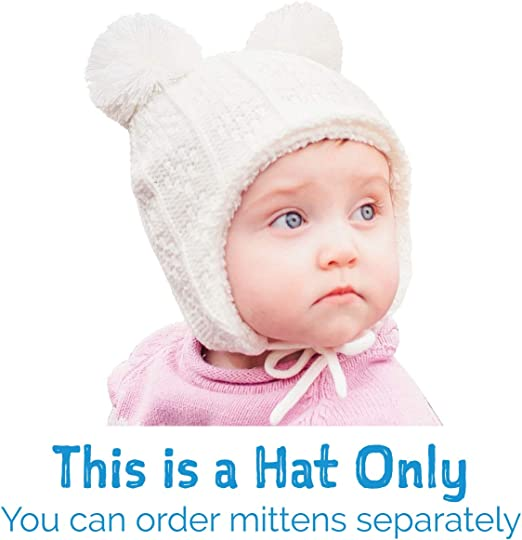 Toddlers and Kids Jan /& Jul Fleece Lined Winter Earflap Knit Hats for Baby Matching Sets