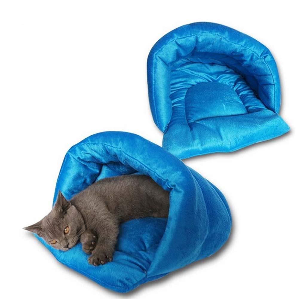 4540 Pet Bed Puppy Puppy Kennel Sofa Wool Material Bed cat pad Dog Bed House cat Sleeping Bag Warm nest,45  40