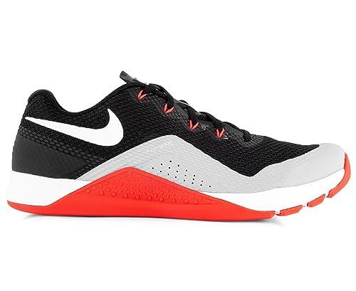 0600639e25c8 Nike Men s Metcon Repper DSX Shoe Black White Wolf Grey  Amazon.com ...