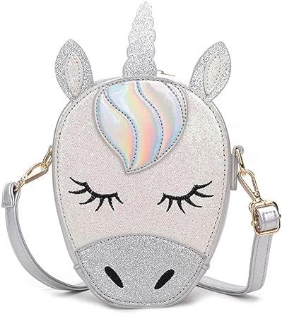 Women's Crossbody Bag Cartoon Unicorn Shaped Causal Cute Bag Cartoon Style