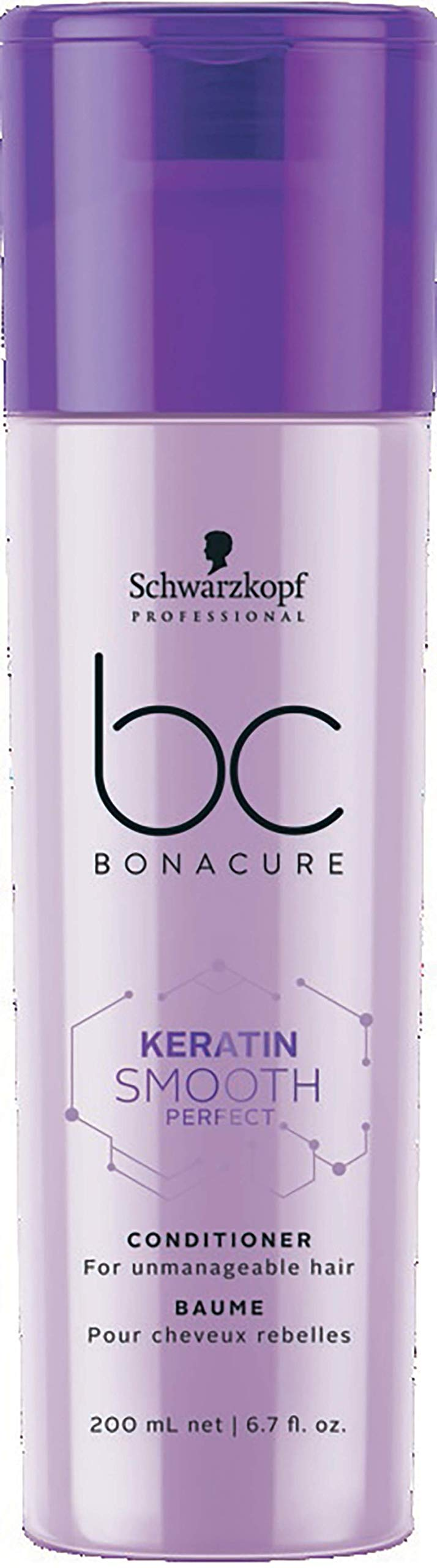 BC BONACURE Keratin Smooth Perfect Conditioner, 6.7-Ounce