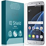 Iqshieldâ® Matte - Samsung Galaxy S7 Edge Anti-Glare Screen Protector [Full Coverage] - Premium Bubble-Free Hd Film With Anti-Fingerprint Coating