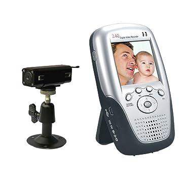 24GHz Hidden Mini Wireless Camera DVR 480 TV Line Nanny Baby