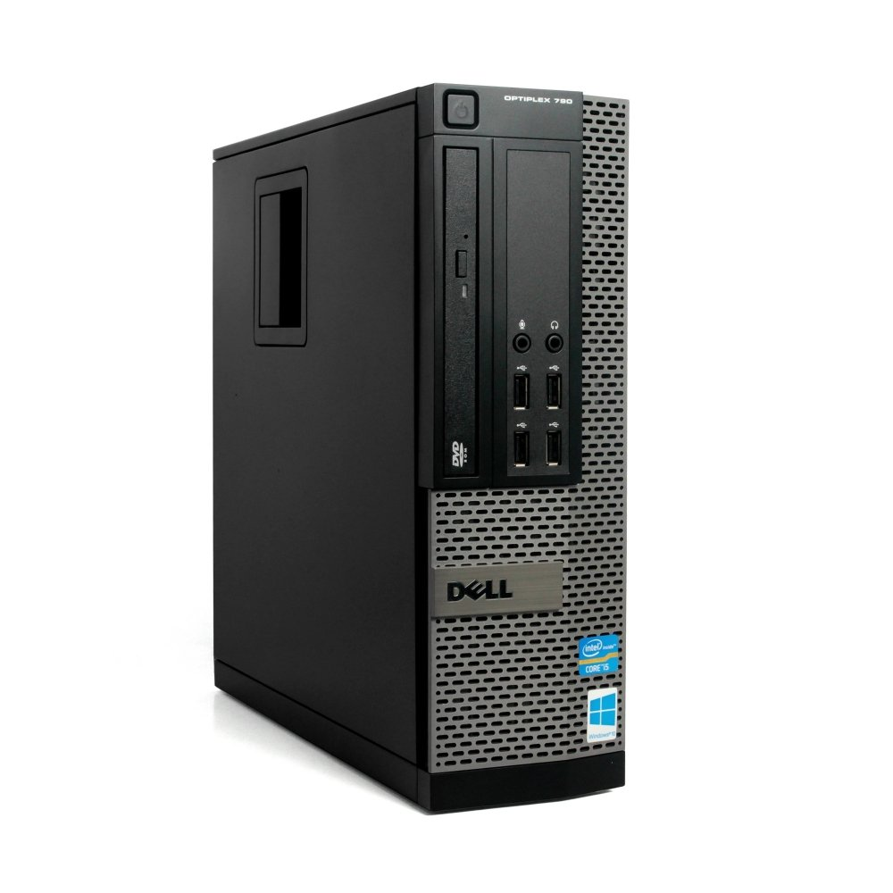 Dell 790 SFF Desktop - Intel Core i5 3.1GHz, 8GB DDR3, 1TB HDD, Windows 10 Pro 64-Bit, Display Port, WiFi, DVD-ROM (Prepared by ReCircuit) by ReCircuit