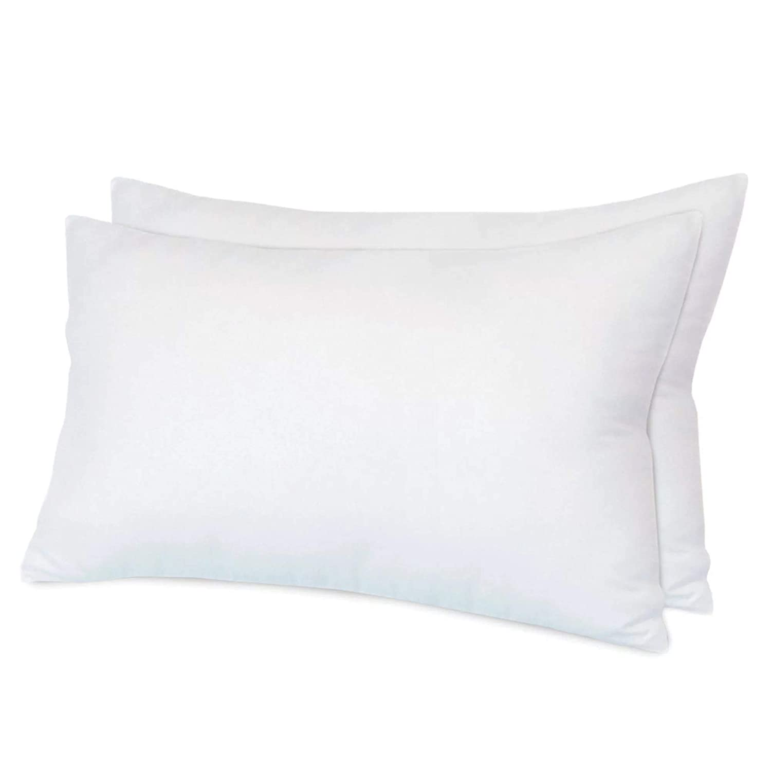 2 Pack Luxury Deep Sleep Pillows With Extra Hollowfibre Filling Bounce Back