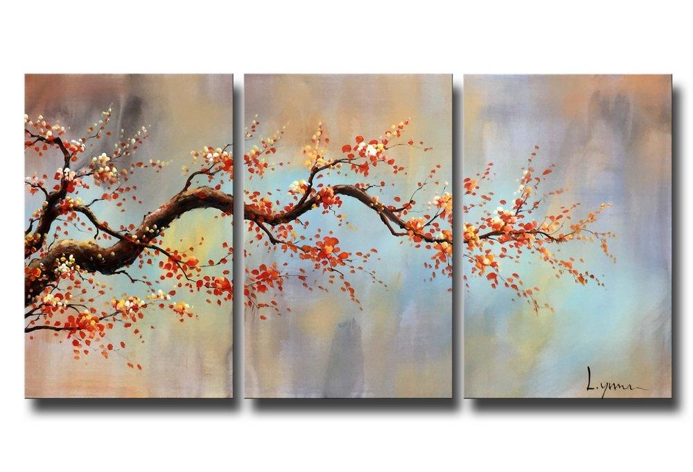Modern Bilder amazon com artland modern 100 painted flower painting on