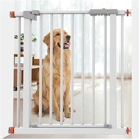 HN-Baby Gate Puertas De Seguridad Extensible De Bebé For Las Escaleras Barandas Presión Monte Solitario Barandas Pet Door Bar Dual Lock Cierre Automático (Color : High78CM, Size : 180-187cm): Amazon.es: Hogar
