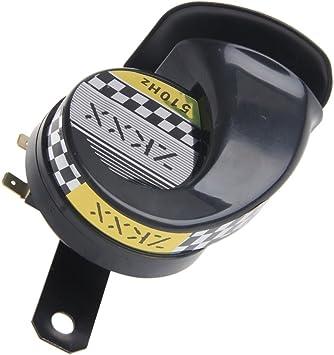 Gr/ün Wasserdichte laute Schneckenlufthorn-Sirene 130dB f/ür Universal-Motorrad-LKW 12V MA