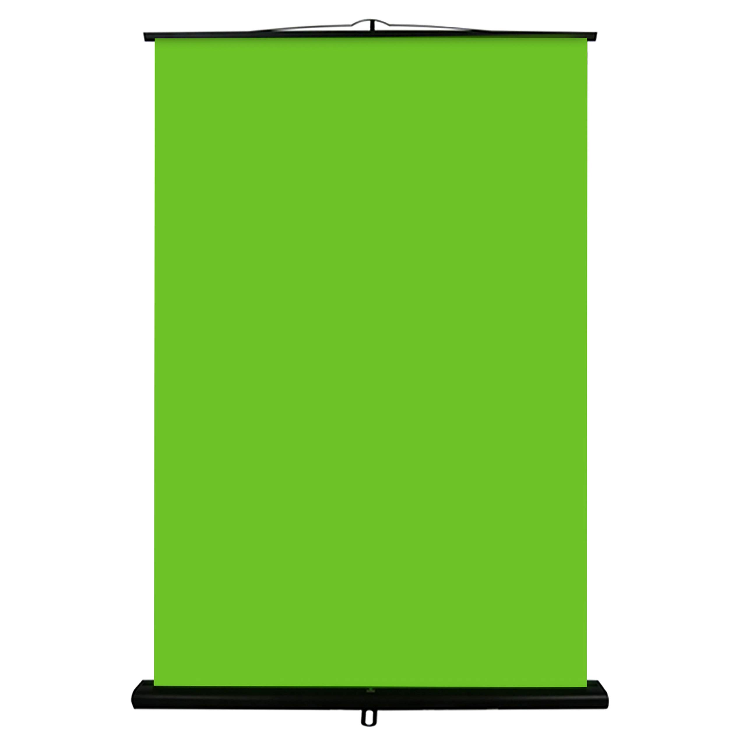 Valera Creator 95: Collapsible Green Screen for Streaming | 75'' x 58'' Screen Area | 11 lbs - Lightest in-Class | 10 Second Setup | Chromakey Wrinkle Resistant Screen | Works in Low Light Conditions