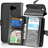Alcatel One Touch Fierce 2 Case, Mellonlu PU Leather Flip Wallet Magnetic Case Cover for Alcatel One Touch Fierce 2 / Alcatel 7040T / POP ICON A564C, with Screen Protector and Stylus Pen
