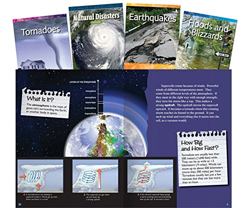 Natural Disasters Set: Grades 3-5 (Classroom Library Collections)