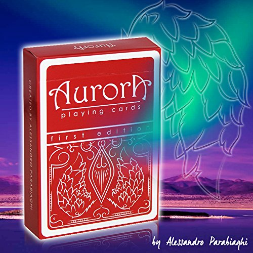 SOLOMAGIA Mazzo di Carte Aurora Playing Cards by Alessandro Parabiaghi Murphy' s Magic Supplies Inc.