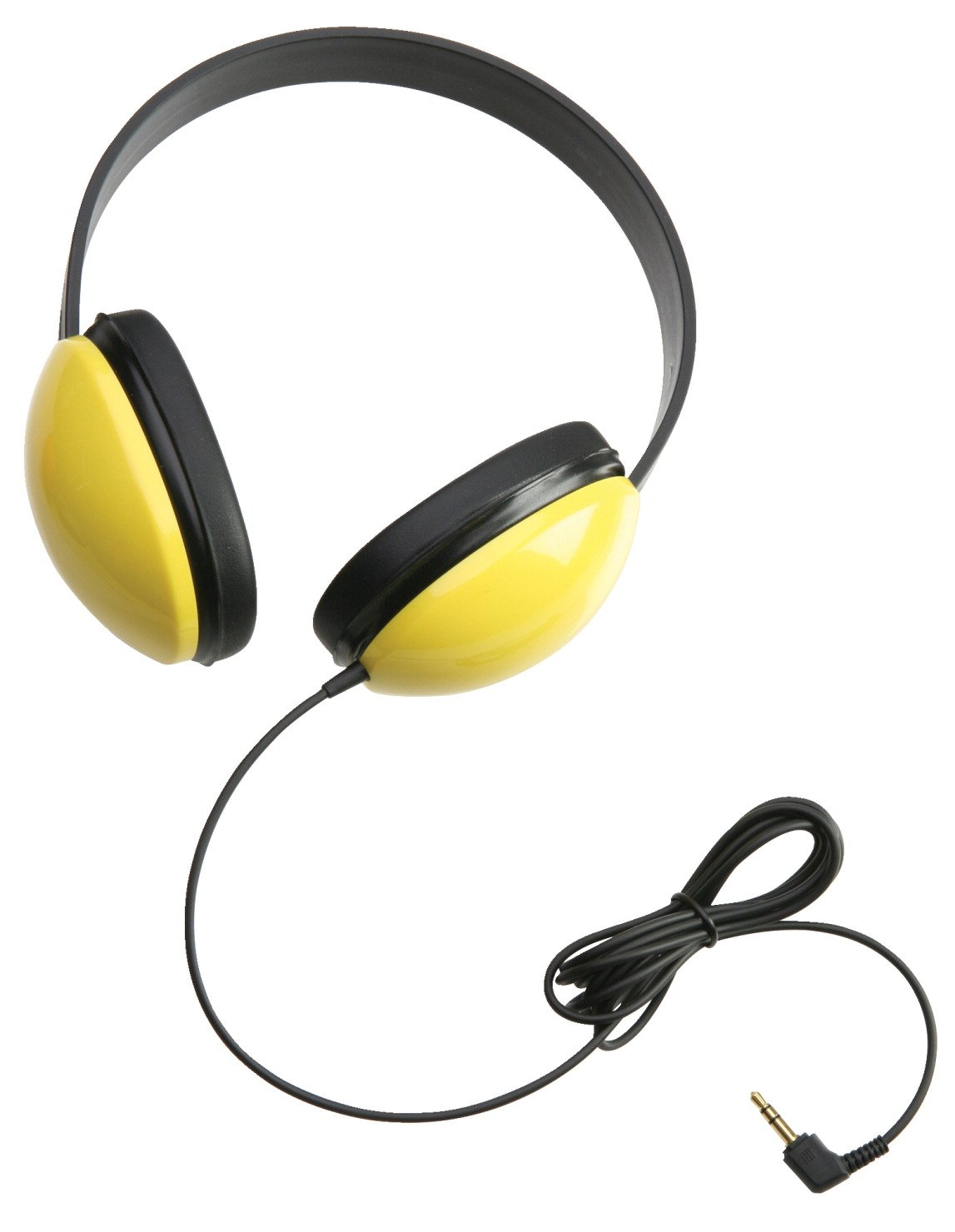 Califone 2800-YL Listening First Headphones in Yellow Set of 12