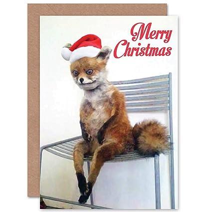 Amazoncom Wee Blue Coo Alternative Christmas Xmas Fox Bad