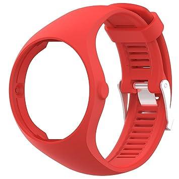 lolly-U Pulsera de Silicona Avanzada Polar M200 Reloj Inteligente Pulsera 22 cm Reemplazo de