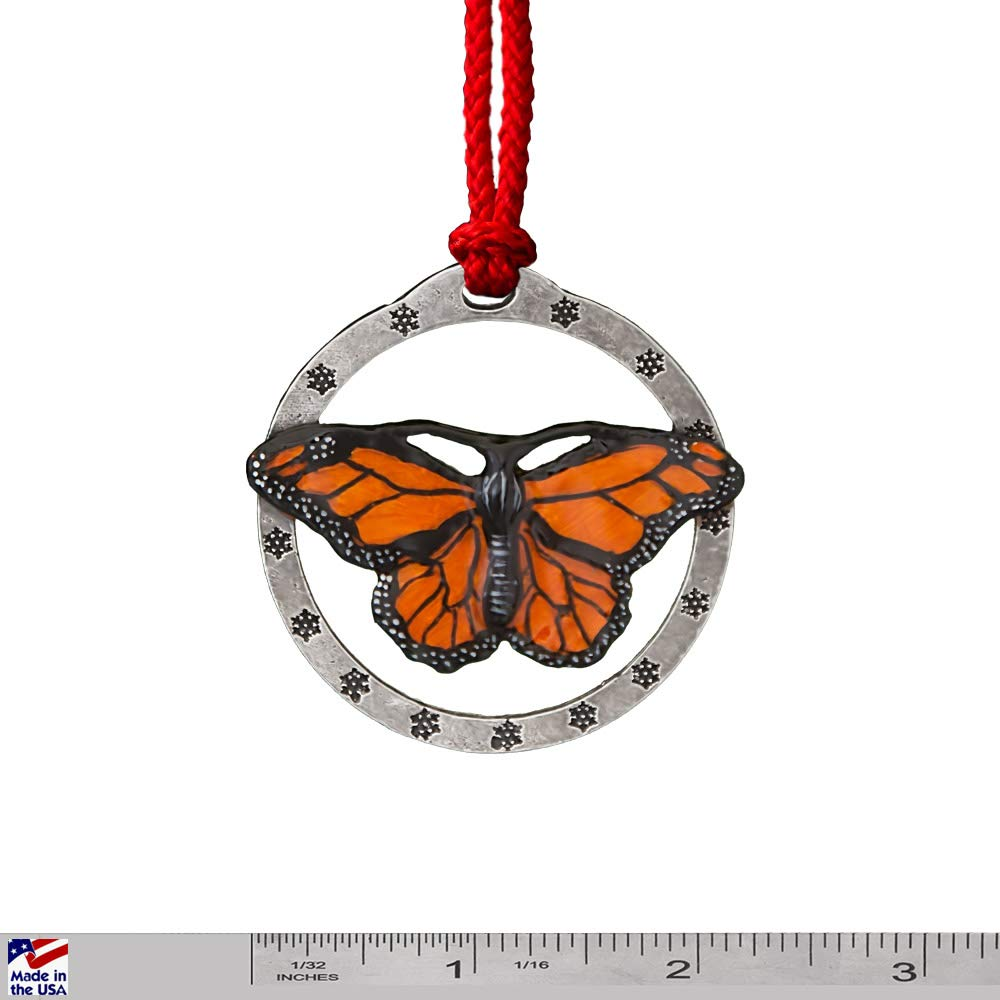 MONARCH BUTTERFLY  Hand Carved Animal Refrigerator Magnets GREAT GIFT IDEA